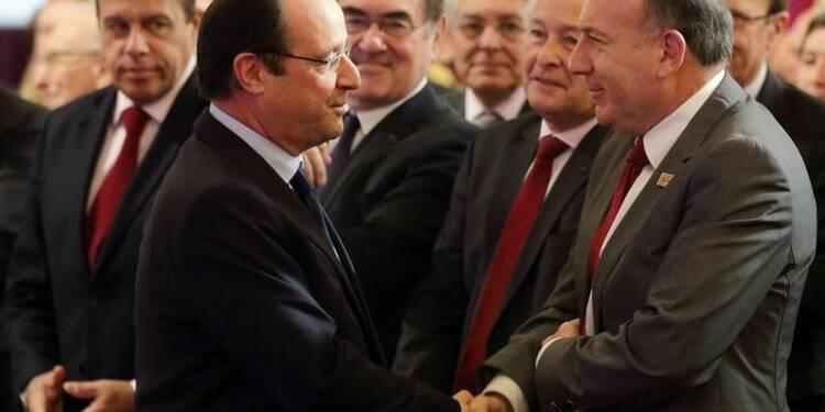 """Pour Hollande, Pierre Gattaz a """"un problème de langage"""""""