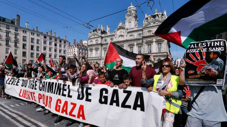 La mobilisation en faveur de Gaza faiblit à Paris