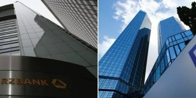 Commerzbank et Deutsche Bank négocient une amende aux Etats-Unis