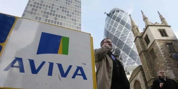 Aviva tire parti de solides performances en Europe et en Asie