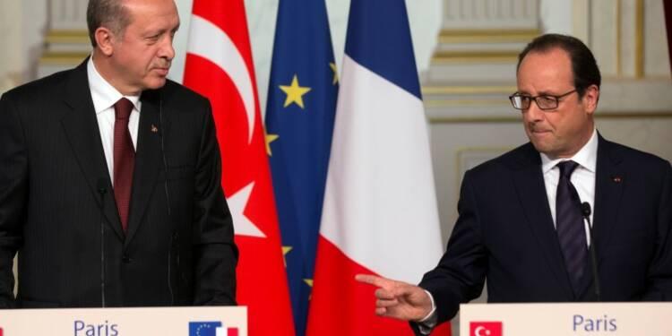 La Turquie reproche à la coalition de se concentrer sur Kobani
