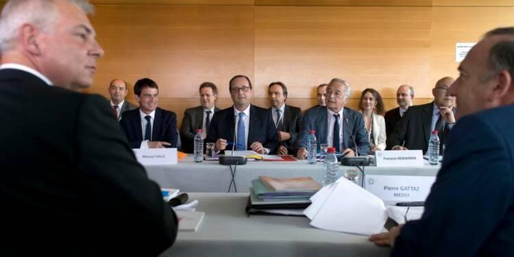 François Rebsamen voit un vrai succès dans la conférence sociale