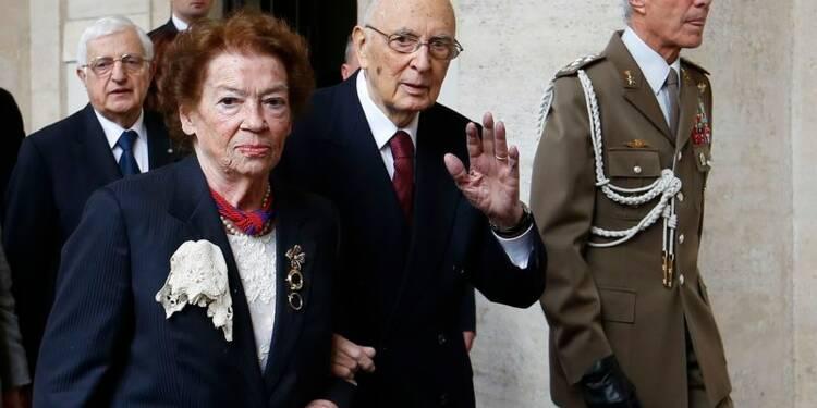 Démission du président italien, Giorgio Napolitano