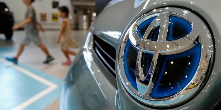 Le 1er trimestre de Toyota meilleur que prévu