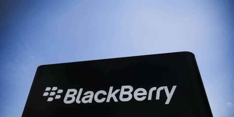 Perte nettement inférieure aux attentes pour BlackBerry