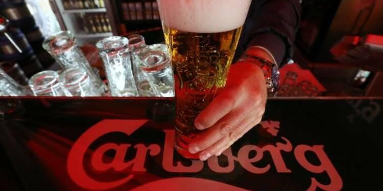 Carlsberg voit l'Asie compenser la faiblesse du marché russe