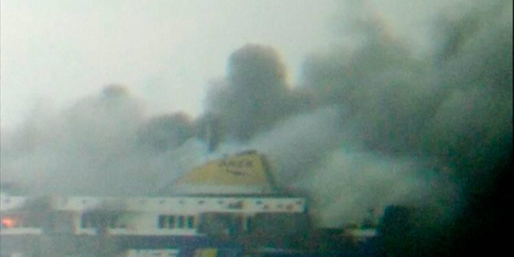 Evacuations par hélicoptères des occupants du ferry italien