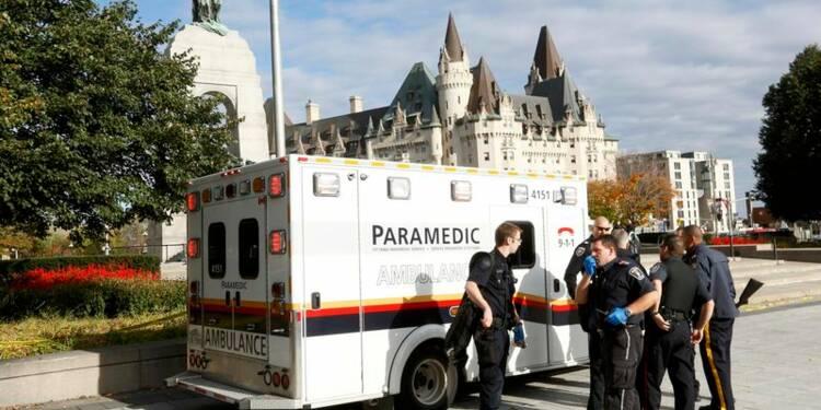 Fusillade à l'intérieur du parlement canadien, à Ottawa