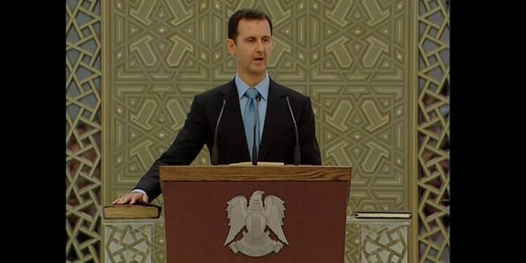Assad a prêté serment pour un nouveau mandat à la tête de la Syrie