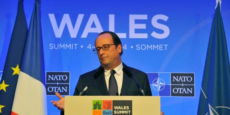 """François Hollande ira """"jusqu'au bout"""" malgré les crises"""