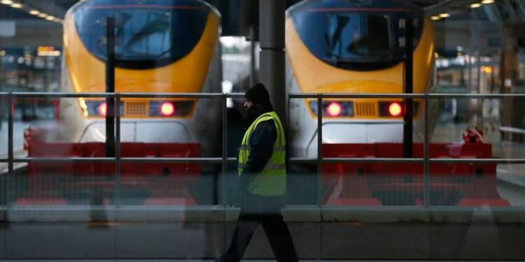 Le trafic Eurostar encore perturbé, retards prévus lundi