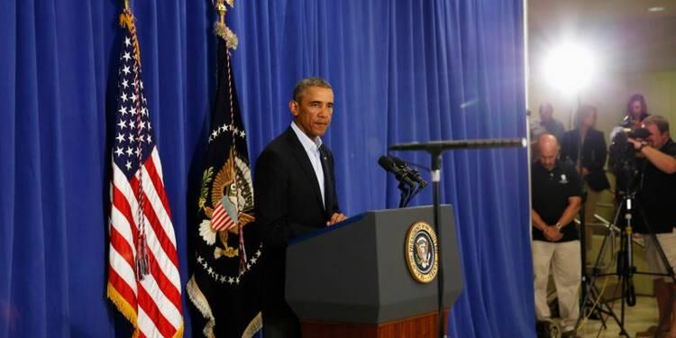"""Barack Obama """"implacable"""" face au """"cancer"""" de l'Etat islamique"""