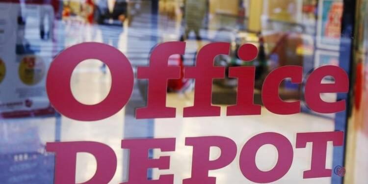 Office Depot relève sa prévision de bénéfice opérationnel