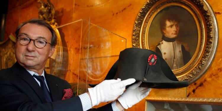 Un bicorne de Napoléon adjugé pour près de 1,9 million d'euros