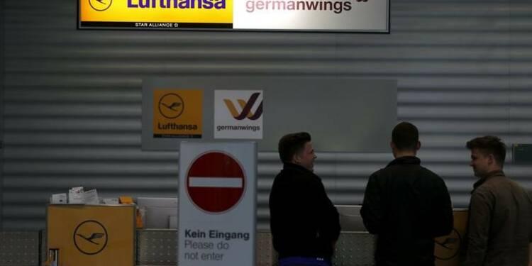 Appel à une grève de deux jours des pilotes de Germanwings