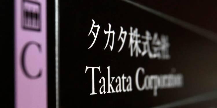 Nouveaux rappels au Japon de voitures équipées d'airbags Takata