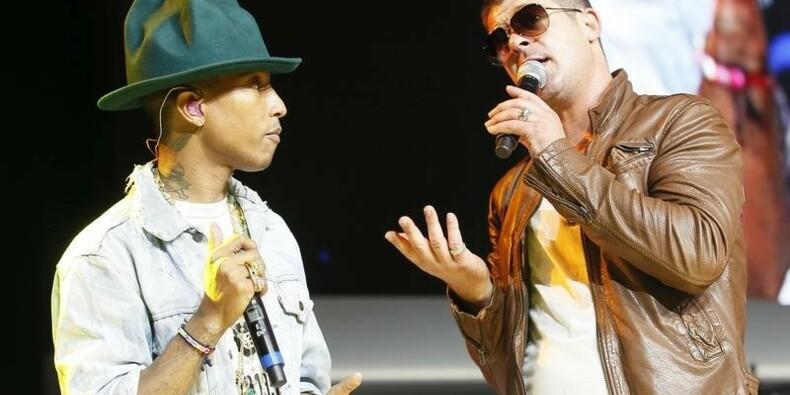 Le duo Pharrell Williams-Robin Thicke à l'amende pour plagiat