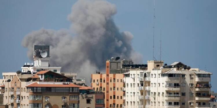 Israël frappe Gaza après des tirs du Hamas
