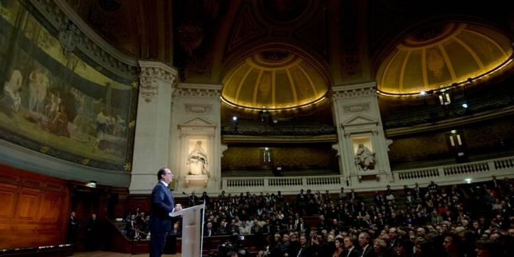 Après les attentats, François Hollande veut refonder l'Ecole