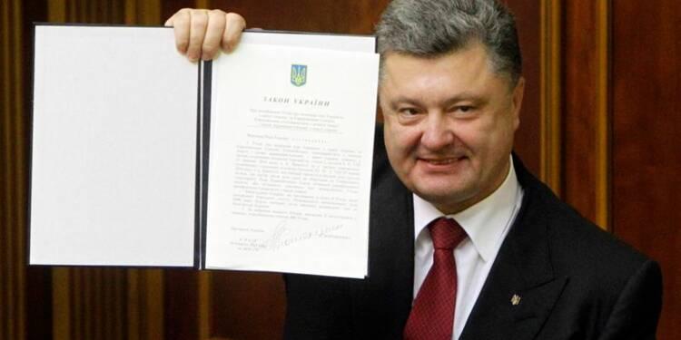 L'accord d'association Ukraine-UE adopté par les parlements