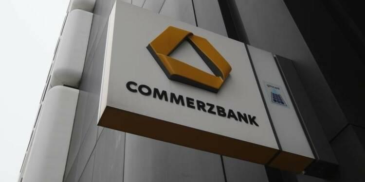 Commerzbank triple son bénéfice net au 3e trimestre