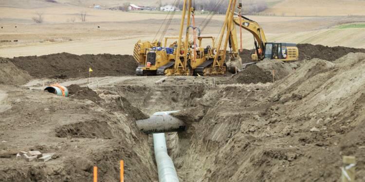 Fuite de pétrole sur le projet d'oléoduc Dakota Access aux USA