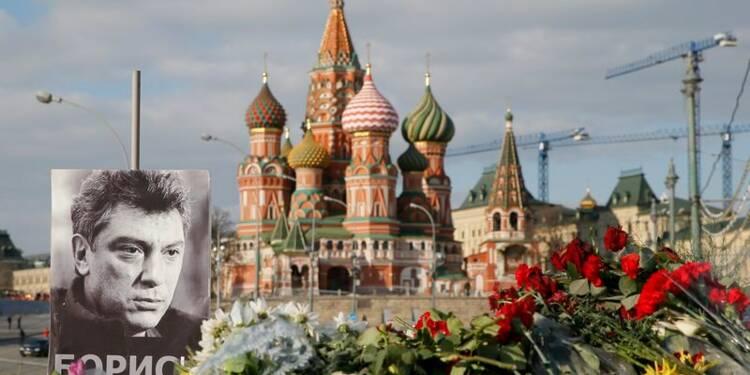 Deux suspects liés au meurtre de Boris Nemtsov ont été arrêtés
