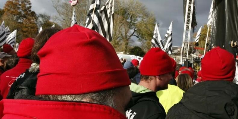Un an de prison ferme requis contre des Bonnets rouges