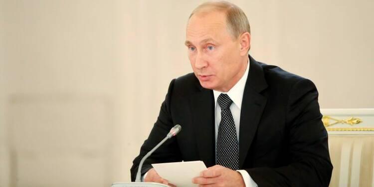 Vladimir Poutine juge les sanctions contraires à l'OMC