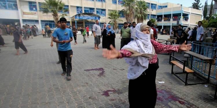 Une école de l'Onu bombardée par Israël à Rafah, dix morts