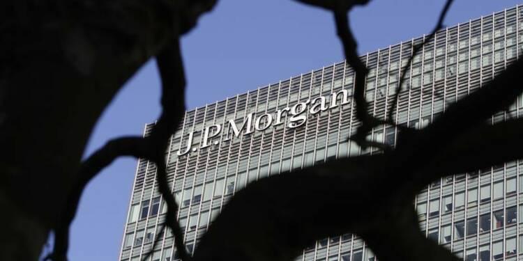 Le bénéfice de JPMorgan en baisse de 8% avec l'activité trading