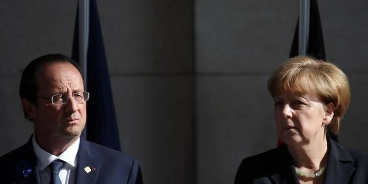 La Grèce au menu d'un dîner Hollande-Merkel à Strasbourg