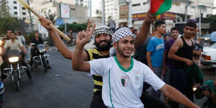 La bande de Gaza célèbre le cessez-le-feu