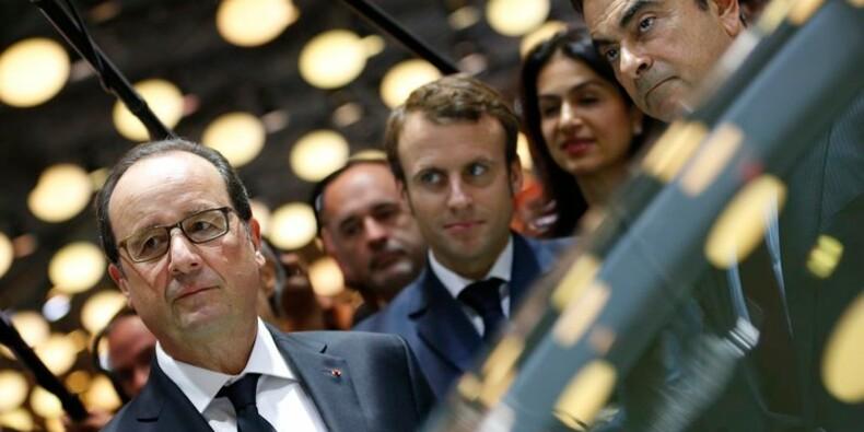 François Hollande salue les progrès de l'industrie automobile