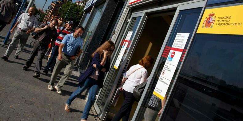 Taux de chômage à 24,5% en Espagne, son plus bas niveau en 2 ans