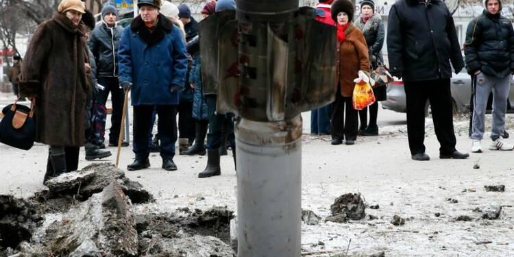 Les rebelles poussent leur avantage avant le sommet sur l'Ukraine
