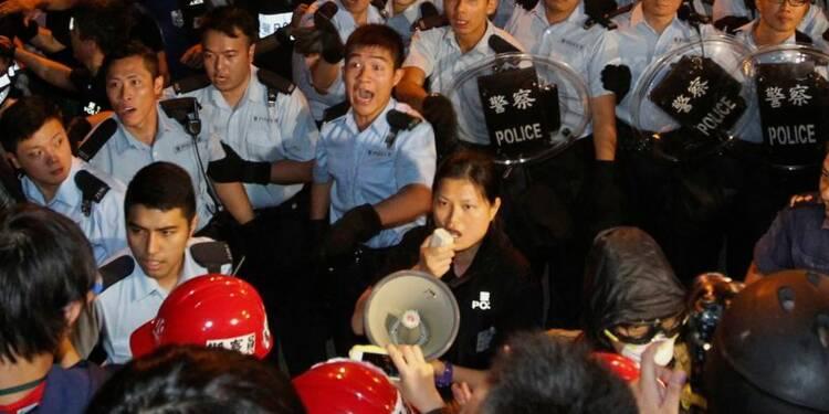 La tension remonte d'un cran à Hong Kong
