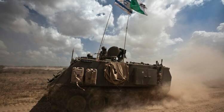 Israël reprend ses frappes sur Gaza après les tirs palestiniens
