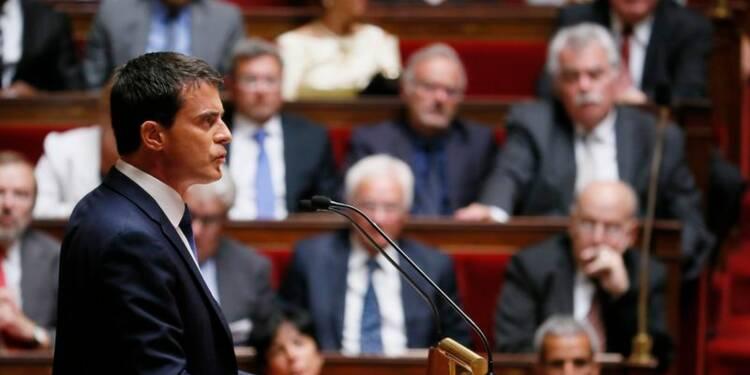 Manuel Valls obtient la confiance mais perd la majorité absolue