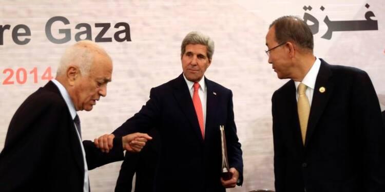 Les USA promettent 212 millions à Gaza, le Qatar un milliard
