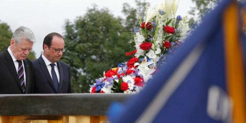 Paris et Berlin commémorent 14-18 et plaident en faveur de l'UE