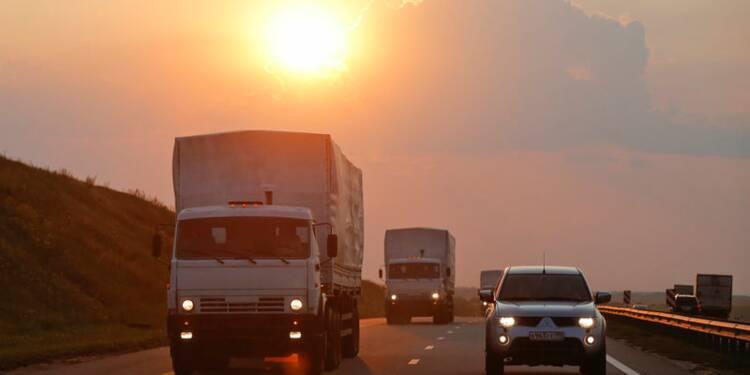 Face au dilemme du convoi russe, Kiev accuse Moscou de cynisme
