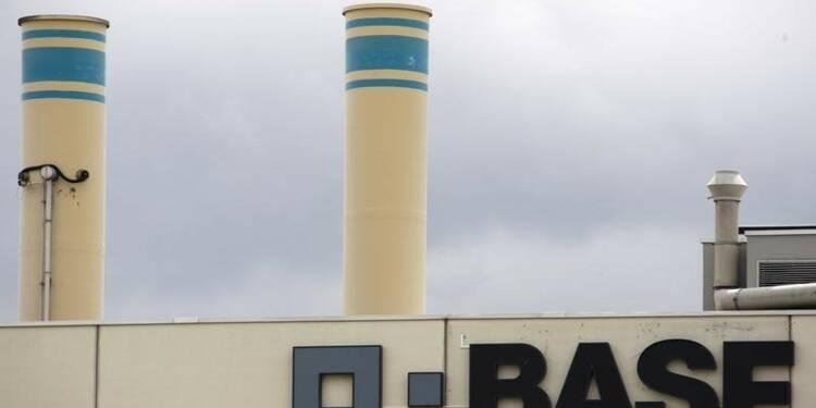 BASF abaisse ses prévisions 2015