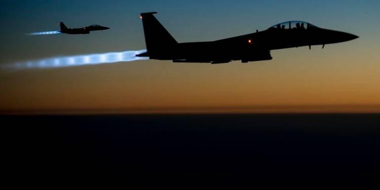 Raids aériens contre l'EI dans l'est de la Syrie