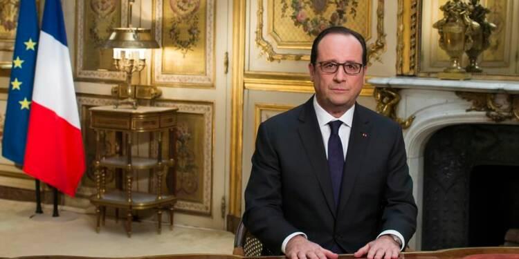 François Hollande place 2015 sous le signe de l'audace