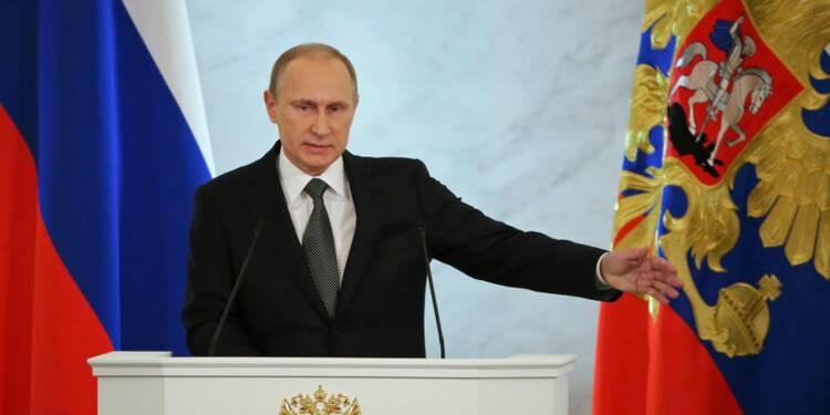 Poutine accuse les ennemis de la Russie de vouloir sa perte