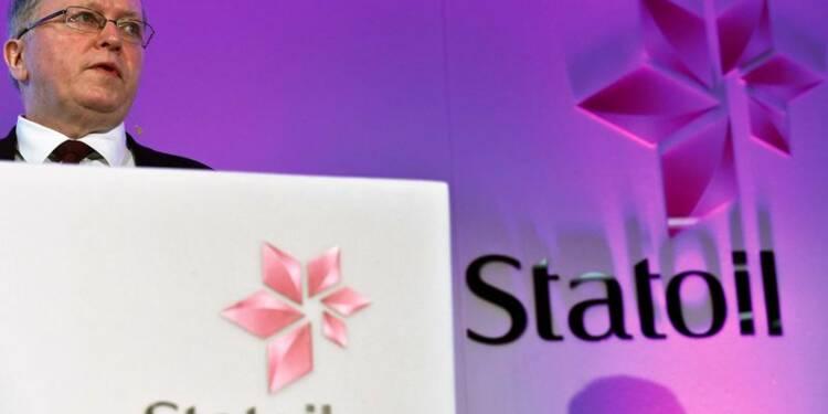 Des charges exceptionnelles plombent Statoil au 4e trimestre