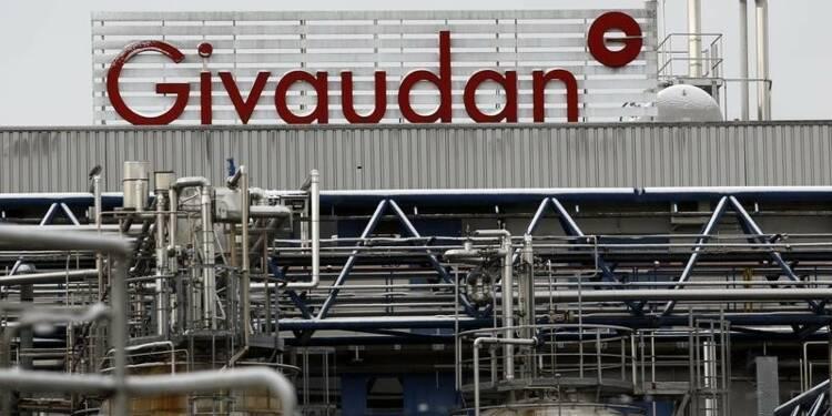 Givaudan s'attend à une croissance stable de son CA en 2015