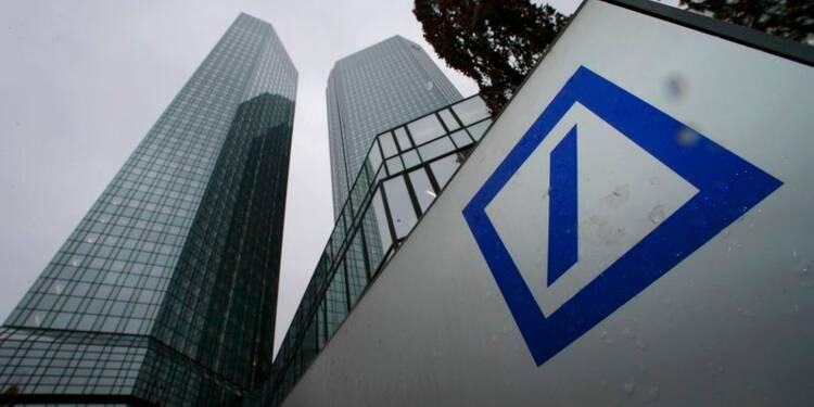 Bénéfice inattendu de Deutsche Bank au 4e trimestre