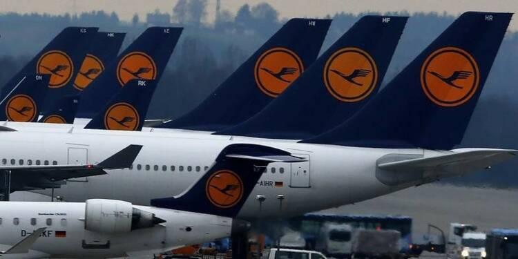 Lufthansa annule 50% de ses vols long-courriers prévus jeudi